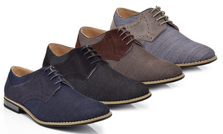 Franco Vanucci Carlo Men's Two-Tone Oxford Shoes