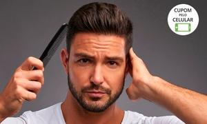 Barber Room - Botafogo: Corte de cabelo (opção com barba ou barbaterapia) na Barber Room– Botafogo
