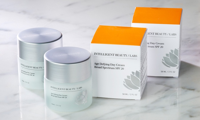 $26.99 for Intelligent Beauty/Labs Age Defying Day Cream with SPF 20