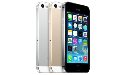iPhone 5S con hasta 64GB disponible en varios colores reacondicionado con envío gratuito
