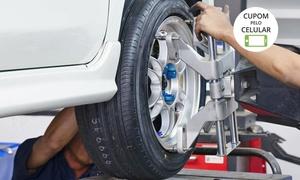Fast Car Serviços Automotivos: Fast Car Serviços Automotivos – Santos: alinhamento de direção computadorizado, balanceamento, check-up de freios e mais