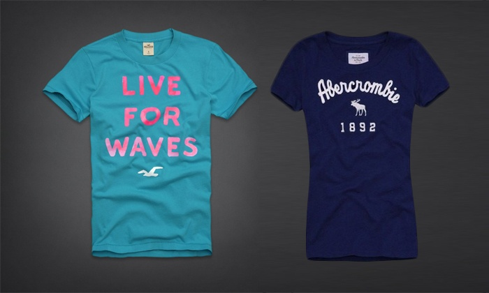 Remeras Abercrombie & Fitch Hombre