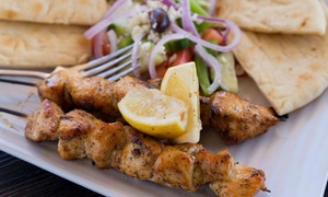Atheneos Greek Village Cafe: $12 for $20 Towards Dinner for Two or More at Atheneos Greek Village Cafe