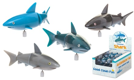 One or Two Tobar Clockwork Sharks