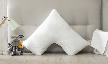 Silentnight V-Shaped Pillow with Pillowcase