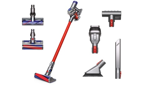 Dyson V6 Absolute Cord-Free Stick Vacuum with Bonus Soft Roller Cleaner Head (Certified Refurbished)