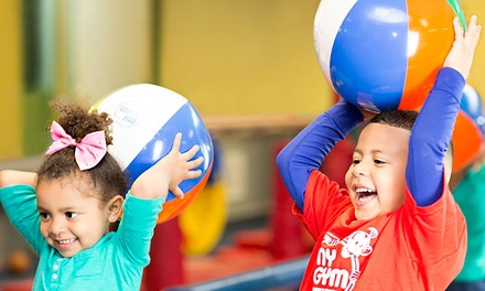 Lifetime Membership with Four Weeks of Classes and Play Sessions for One or Two Kids at My Gym (Up to 67% Off)