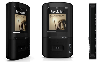 Reproductor MP3/MP4 de 4GB Philips modelo SA4VBE04KN