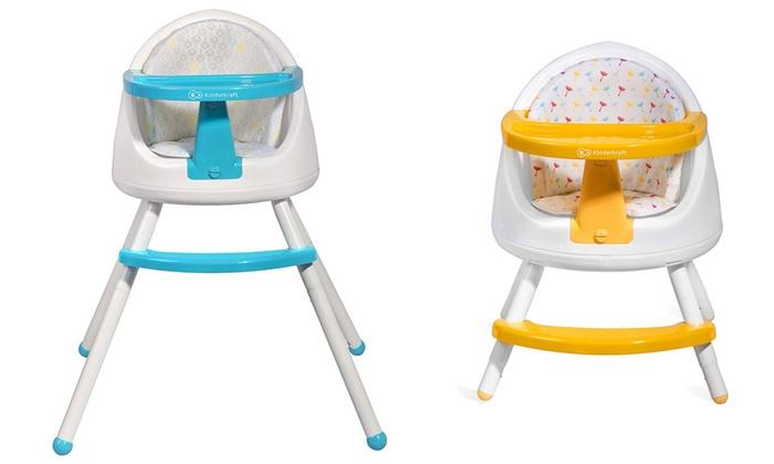 Trona 3 en 1 kinderkraft groupon goods for Chaise kinderkraft