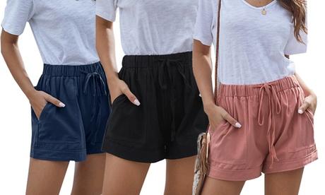 1 o 2 pantalones cortos de verano para mujer
