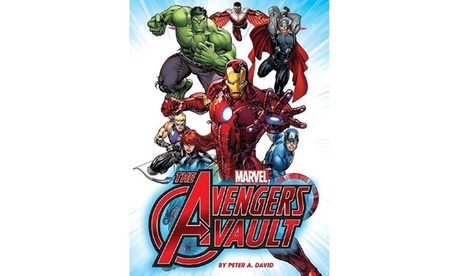 Marvel: The Avengers Vault Book d8dfe174-b449-11e7-bf84-002590604002