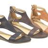 Women's Romanian Small-Wedge Open-Toe Sandals