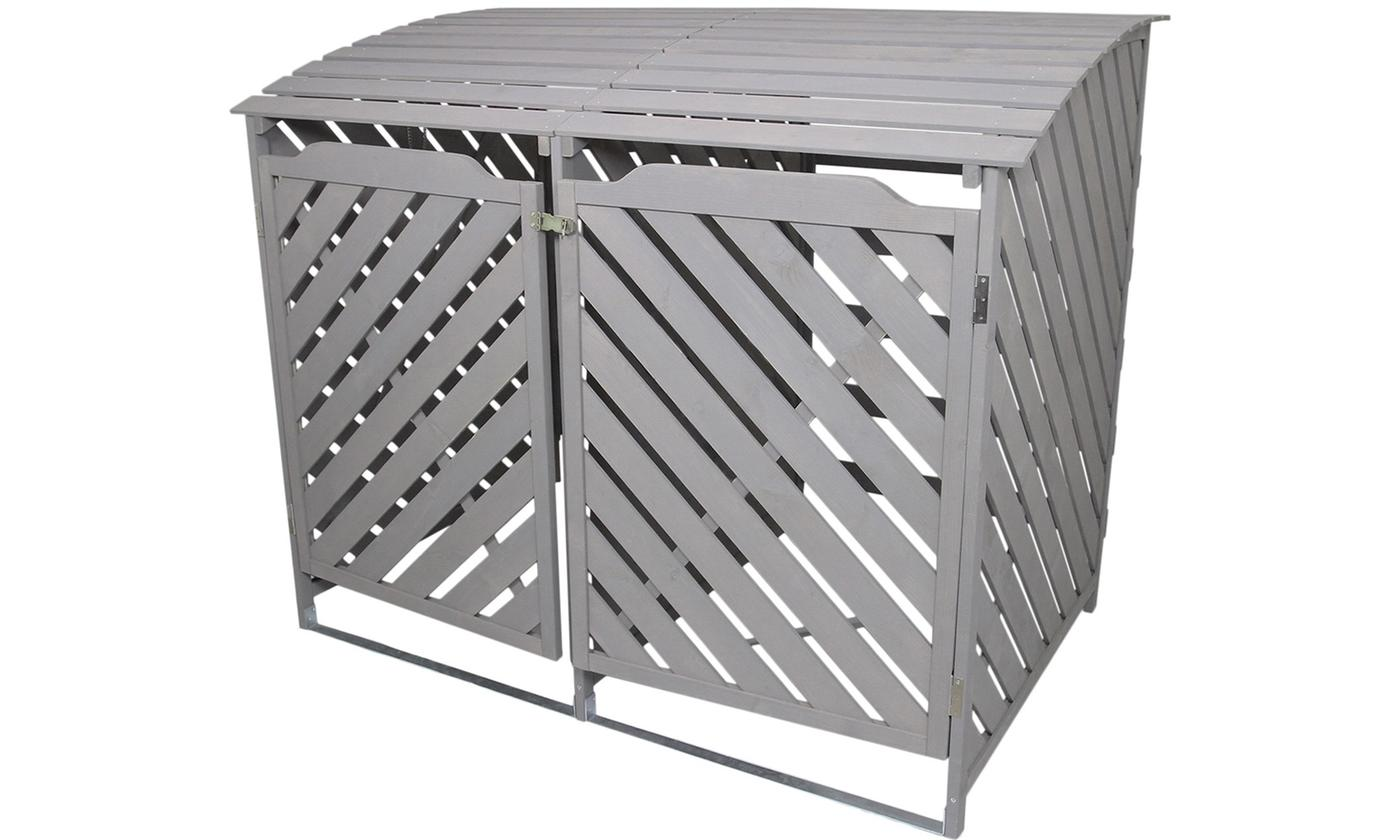 Monster Group Double-Wheelie Bin Storage With Free Delivery