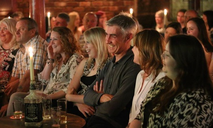 Hogmanay or Saturday Night Comedy for Up to Four at The Comedy Cabaret at The Blue Lamp