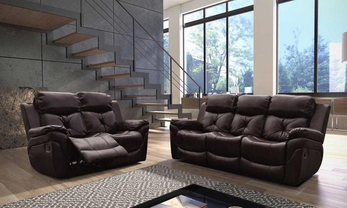 gizelle recliner sofa sets