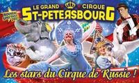 1 place en tribune dhonneur pour lune des représentations du Grand cirque de Saint-Pétersbourg à 10 € à Toulouse
