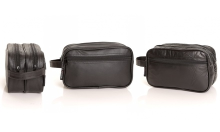 Men's Wash Bag in Choice of Design for £4.99 (Up to 50% Off)