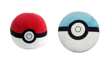 Pokémon Pokeball Plush Pillow Including Delivery