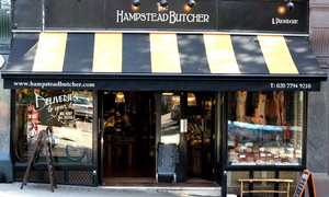 The Hampstead Butcher and Providore: Standard or Upgraded Summer Barbecue Pack from The Hampstead Butcher and Providore