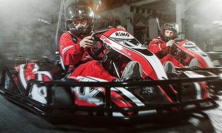 *Neuheit Drift Kart:* 20 Min. Drift-Rennkart fahren am 26.10. oder 27.10.2016 bei Power Car Motodrom(36% sparen)