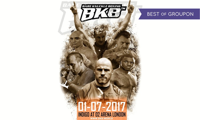 BKB Events - indigo at The O2: Bare-Knuckle Boxing, 1 July at Indigo at the O2, London (Up to 64% Off)