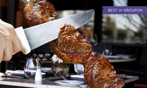 Carne e Dintorni: Menu argentino con dolce e bottiglia di vino per 2 o 4 persone al Carne e Dintorni (sconto fino a 76%)