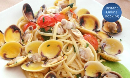 ThreeCourse Italian Meal with Wine for Two $69 or Four People $135 at La Tavernetta Osteria Up to $294 Value
