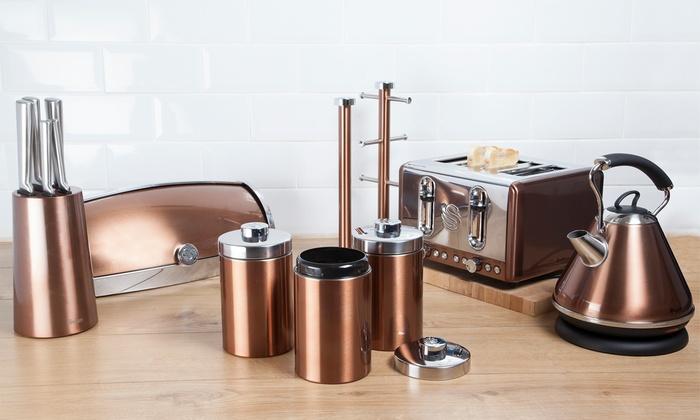 Swan Copper-Look 13-Pc Kitchen Set | Groupon