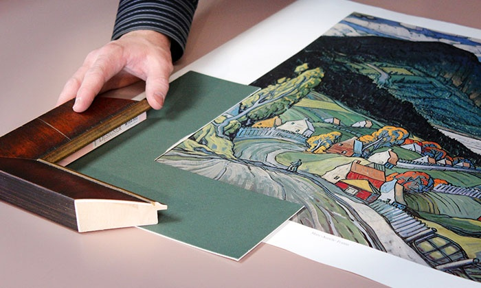 Art and Frame Station - Murray: $39 for $100 Worth of Custom Framing at Art and Frame Station