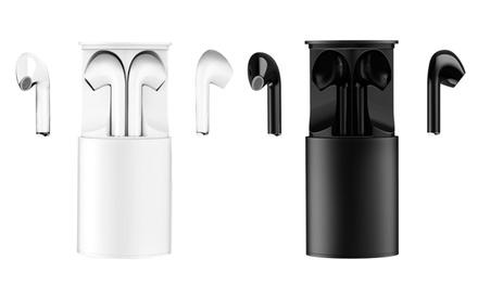1 o 2 pares de auriculares inalámbricos con base de carga