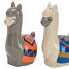 Hand-Painted Llama Ceramic Serveware