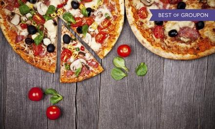 Pizza a scelta tra 50 gusti dolce e birra