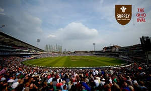 Kia Oval Cricket Ground: Kia Oval Stadium Tour for Up to Two at Kia Oval Cricket Ground (Up to 49% Off)