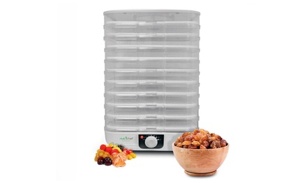 Nutrichef Electric 10-Tray Food Dehydrator
