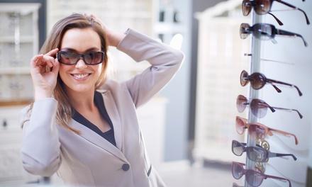 50% Off Sunglasses or Frames at I & EYE Optics, Choice of Location