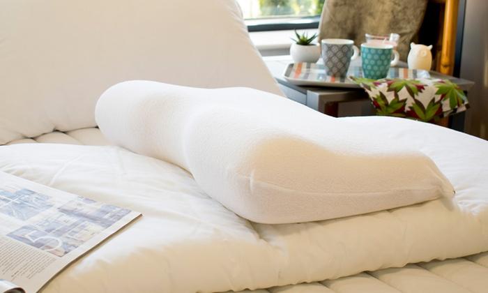 oreiller cervicale m moire forme groupon. Black Bedroom Furniture Sets. Home Design Ideas