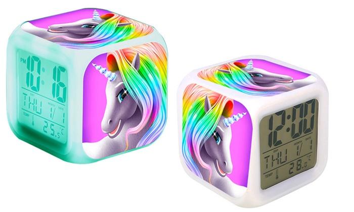 Haven Unicorn Alarm Clock   Groupon