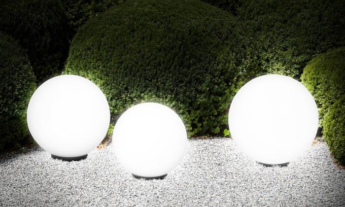 Illuminazione da giardino a palla: pali palo per lampione sfera