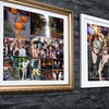 Up to 92% Off Framed Halloween Canvas Print