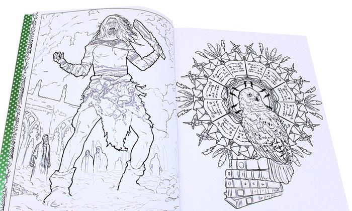 Set libri harry potter da colorare groupon for Fantastici disegni di garage