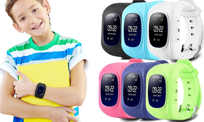 One or Two KequKids' GPS Tracking Smartwatch