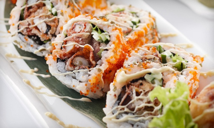 Shogun Sushi - Carmichael: $20 for $40 Worth of Sushi and Japanese Cuisine at Shogun Sushi