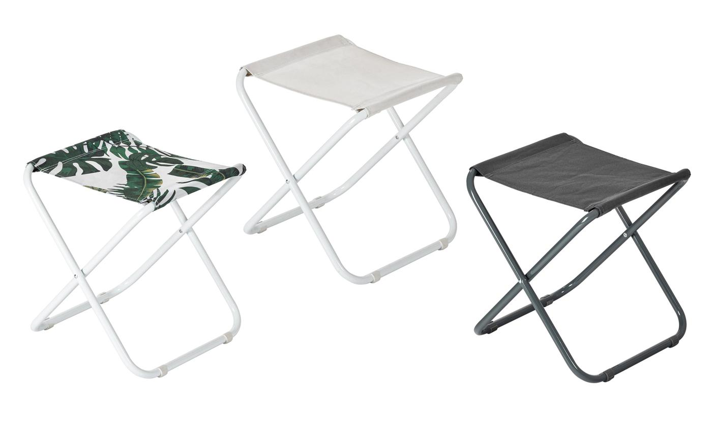 One or Two Classic Folding Beach/Garden/Camping Stools