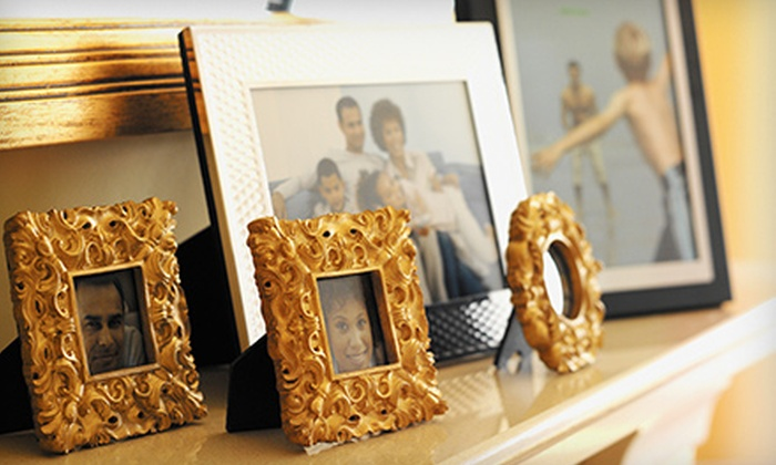 Photograph & Frame - Multiple Locations: Custom Framing at Photograph & Frame (Up to 60% Off). Two Options Available.
