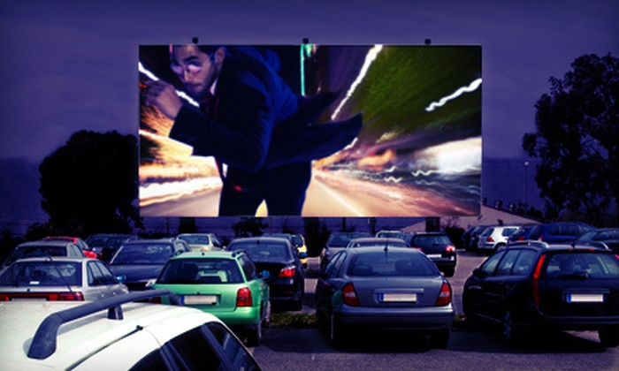 Electric Dusk Drive-In - Downtown Los Angeles: Drive-In Movie with Popcorn and Sodas for Two or Four at Electric Dusk Drive-In (Up to 56% Off)