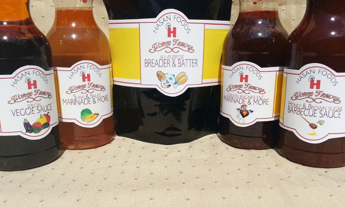 Chicken Magnificent - Hickory Grove: $19 for Barbecue-Sauce Sampler with Five 16-ounce Bottles at Chicken Magnificent ($42 Value)