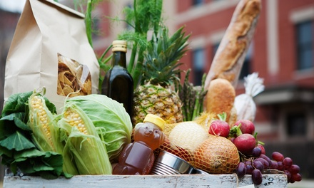 One or Two Groupons, Each Good for $25 Worth of Natural Groceries at Nature's Pavilion (Up to 44% Off)