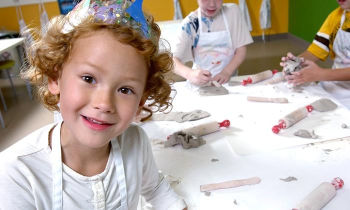 Kidcreate Studio - Woodbury: Children's Art-Themed Birthday Party for 10, Valid Monday–Thursday or Friday–Sunday at Kidcreate Studio (Up to 51% Off)