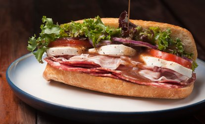 image for $16.50 for Three vouchers, Each Good for $10 Worth of Sandwiches and Drinks at Sam's To Go ($30 Total Value)