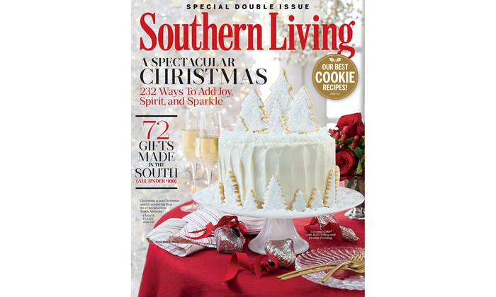 1  Or 2 Year Subscription To Southern Living Magazine